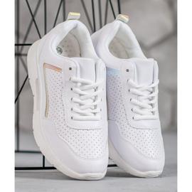 SHELOVET Białe Buty Sportowe 2
