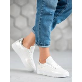Jumex Wiązane Buty Sportowe białe 3