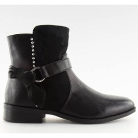 Botki damskie czarne 1046-PA Black 6