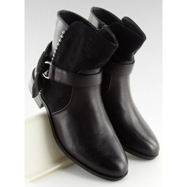 Botki damskie czarne 1046-PA Black 2