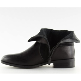 Botki damskie czarne 1046-PA Black 3