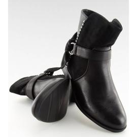 Botki damskie czarne 1046-PA Black 4
