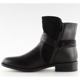 Botki damskie czarne 1046-PA Black 5
