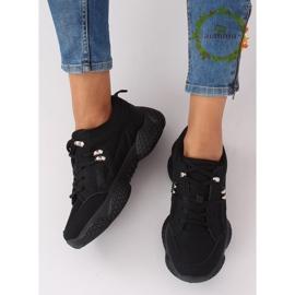 Buty sportowe czarne BD-5 Black 1