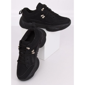 Buty sportowe czarne BD-5 Black 2