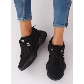 Buty sportowe czarne BD-5 Black 3