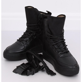 Buty sportowe czarne Y-027 Black 1