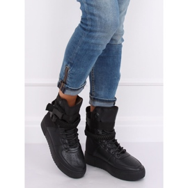 Buty sportowe czarne Y-027 Black 3