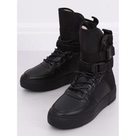 Buty sportowe czarne Y-027 Black 4