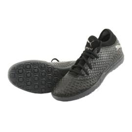 Buty piłkarskie Puma Future 4.4 Tt M 105690-02 czarne 5