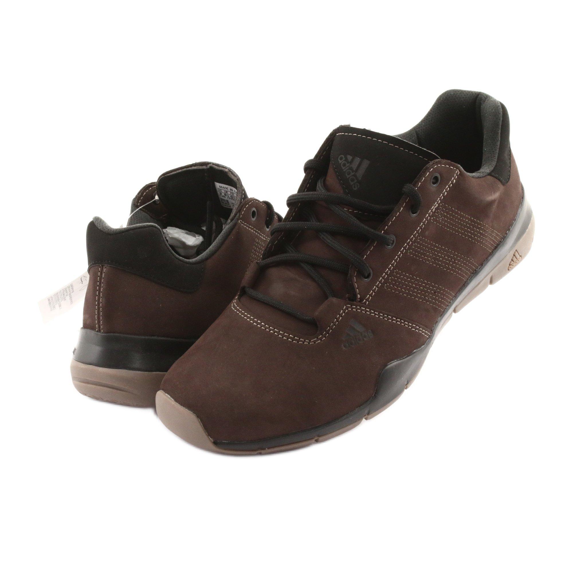 Buty trekkingowe adidas Anzit Dlx M18555 brązowe