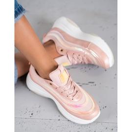 SHELOVET Jasnoróżowe Sneakersy 2