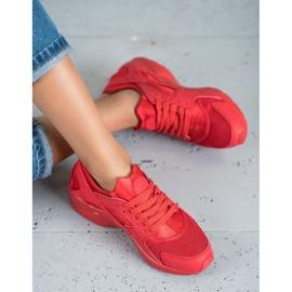 SHELOVET Czerwone Buty Sportowe 2