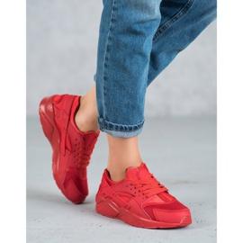 SHELOVET Czerwone Buty Sportowe 5