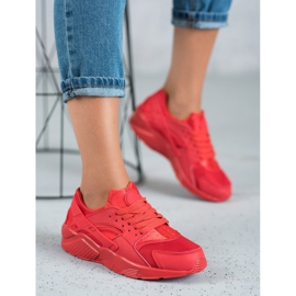 SHELOVET Czerwone Buty Sportowe 1