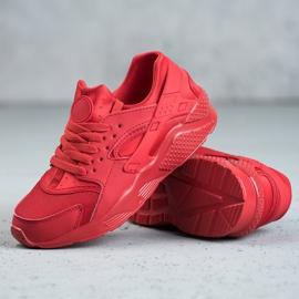SHELOVET Czerwone Buty Sportowe 4