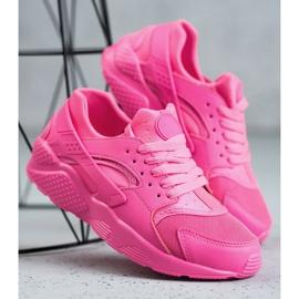 SHELOVET Różowe Buty Sportowe 1