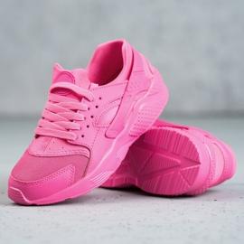 SHELOVET Różowe Buty Sportowe 5