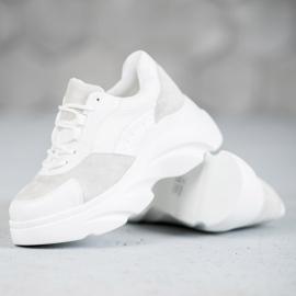 Seastar Buty Sportowe Na Platformie białe 3