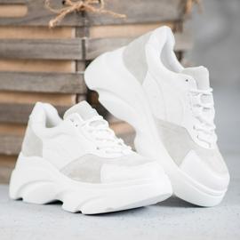 Seastar Buty Sportowe Na Platformie białe 5