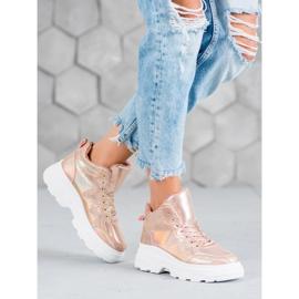 Seastar Ocieplane Sneakersy różowe 2