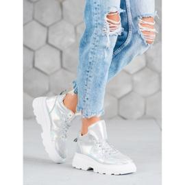 Seastar Ocieplane Sneakersy szare 1