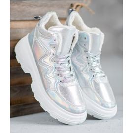 Seastar Ocieplane Sneakersy szare 3