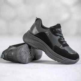 SHELOVET Czarne Buty Sportowe 1