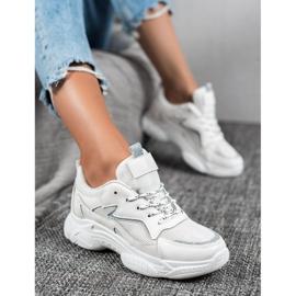 SHELOVET Klasyczne Buty Sportowe białe 2