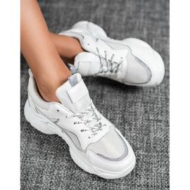 SHELOVET Klasyczne Buty Sportowe białe 1
