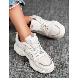 SHELOVET Klasyczne Buty Sportowe brązowe 3
