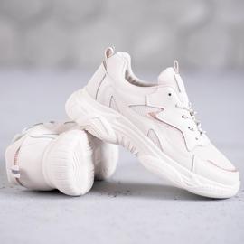 SHELOVET Klasyczne Buty Sportowe brązowe 1