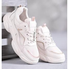 SHELOVET Klasyczne Buty Sportowe brązowe 4