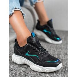 SHELOVET Klasyczne Buty Sportowe czarne 3