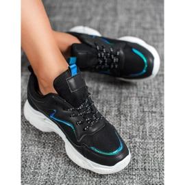 SHELOVET Klasyczne Buty Sportowe czarne 4