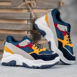 SHELOVET Wielokolorowe Sneakersy 4