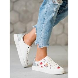 Bestelle Buty Sportowe Z Naszywkami białe 1