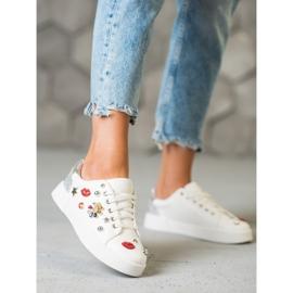 Bestelle Buty Sportowe Z Naszywkami białe 2