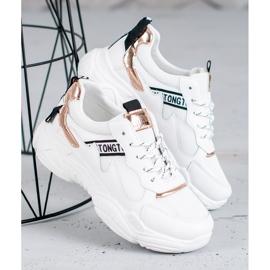 SHELOVET Wygodne Buty Sportowe białe 2