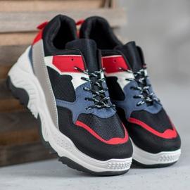 SHELOVET Wielokolorowe Sneakersy 3