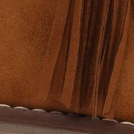 Botki sztyblety z frędzlami camel 8B907 Camel brązowe 4