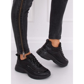 Buty sportowe czarne BY-082 Black 2