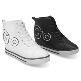Modne Sneakersy Go GFA108 Czarny czarne 3