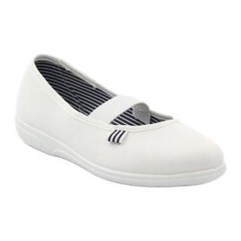 Befado obuwie dziecięce 274Y013 białe 2