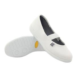 Befado obuwie dziecięce 274Y013 białe 4