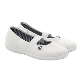 Befado obuwie dziecięce 274Y013 białe 5