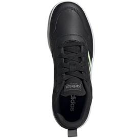 Buty adidas Tensaur K Jr EF1082 czarne 1