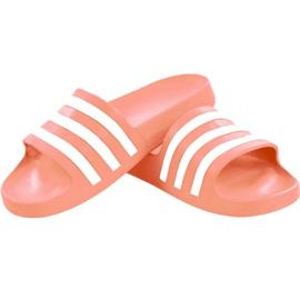Klapki adidas Adilette Aqua W EE7345 różowe 2