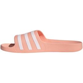 Klapki adidas Adilette Aqua W EE7345 różowe 3
