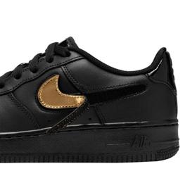 Buty Nike Air Force 1 LV8 3 Jr AR7446-001 czarne 3